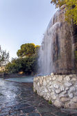 France , Nice. Artificial waterfall on the hill Chateau — Stock fotografie