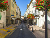 France , Antibes, October 12, 2013 . A typical urban view — Stock Photo