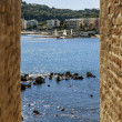 France , Antibes. A typical urban view — Stock Photo