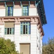 France, Nice. Typical details of urban facades — Stock Photo