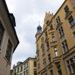 Riga, Latvia. Typical architectural details — ストック写真