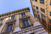 France , Nice. Typical architectural details of the old town — Stockfoto
