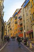 France, nice. les rues étroites de la vieille ville — Photo