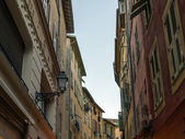 France , Nice. Architectural details of the old town — Stock Photo