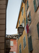 France , Nice. Architectural details of the old town — Stockfoto