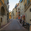 France , Nice, October 2013 . A typical urban view — Stock Photo