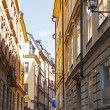 Stockholm . The architecture of the old town — Stock Photo