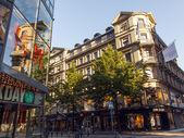 стокгольм. центральная улица города - drotningattan — Стоковое фото