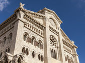 The Principality of Monaco. The architecture of the cathedral — Stock Photo