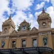 The Principality of Monaco. Monte Carlo casino and a public garden — Stock Photo #35064289