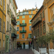 France , Nice. October 15, 2013 . A typical urban view Nice - one of the resorts of the Côte d'Azur France — Stock Photo #35280157