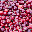 Berries on market stall — Stock Photo