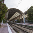 France , Nice. railway station Nice - one of the resorts of the Côte d'Azur France — Stock Photo #35356109