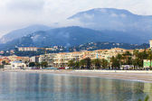 France , Menton. Seashore. — Stock Photo