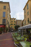 France , Menton, View of the old town — Stock Photo
