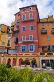 Frankrike, Rivieran, menton. gatan i gamla stan — Stockfoto