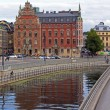 Stockholm , Sweden. Typical urban view — Foto Stock