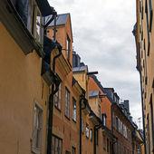 Stockholm, zweden. typische architectuur van de oude stad — Stockfoto