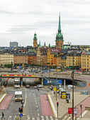Stockholm , Sweden. View of the city from a high point — Стоковое фото