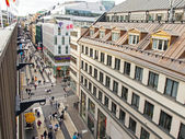 Stockholm , Sweden. View of the city from a high point — Stock Photo