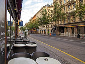 Stockholm , Sweden. Typical urban view — Stock Photo