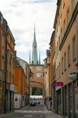 Stockholm, Sweden. A typical view of old town — Stock Photo