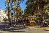 Fransa, cote d'azur, villefranche. tipik kentsel görünümü — Stok fotoğraf