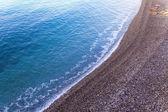 Mediterranean, French Riviera . Coastline in Nice — Stock Photo