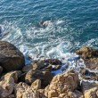 Stock Photo: Mediterranean, French Rivier. coastline