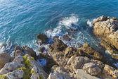 Mediterranean, French Riviera . coastline — Foto de Stock