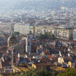 France , Cote d'Azur . Nice. View of the city from the observation deck on the hill Chateau — Stock Photo #36465249
