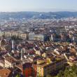 France , Cote d'Azur . Nice. View of the city from the observation deck on the hill Chateau — Stock Photo #36465215