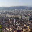 France , Cote d'Azur . Nice. View of the city from the observation deck on the hill Chateau — Stock Photo #36465235
