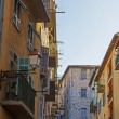 France , Cote d'Azur . Nice, typical architectural details of the buildings in the old town — Stock Photo #36465729