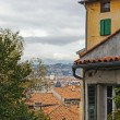 France , Cote d'Azur . Nice, October 17, 2013 . View of the city from the observation deck on the hill Chateau. — Stock Photo #36746673