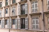 France , Cote d'Azur . Nice, typical architectural details — Stock Photo