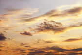 Heavenly landscape: clouds before the storm — Foto Stock