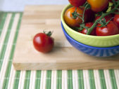 Tomatoes-cherry for salad — ストック写真