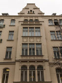 Germany, Berlin . Architectural details of the houses built in the western part of the city in the early twentieth century — Stockfoto