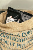 Large bag of coffee sachets — Foto de Stock