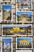 Gift cards with views of Berlin — Zdjęcie stockowe