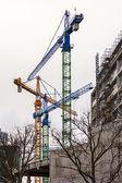 德国,柏林,2013 年 2 月 21 日。在柏林的新建筑施工 — 图库照片