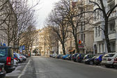 Germany, Berlin, February 21, 2013 . Typical urban view — Stock Photo