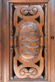 Florence, Italy , June 23, 2012. Tipical architectural details — Stock Photo