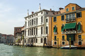 Venice, Italy, June 20, 2012. View of the Grand Canal (Canal Grande) — Stok fotoğraf