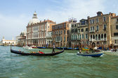 Venice, Italy, June 20, 2012. View of the Grand Canal (Canal Grande) — Stock Photo