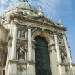 Italy , Venice. Basilica of Our Lady to heal (Basilica di Santa Maria della Salute). — Foto Stock