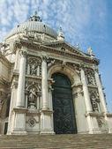 Italy , Venice. Basilica of Our Lady to heal (Basilica di Santa Maria della Salute). — Stockfoto