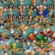 Stock Photo: Venice, Italy . Showcase with souvenir masks