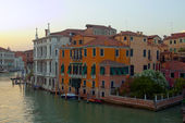 Italy , Venice. Typical urban view in the early evening — Stock Photo